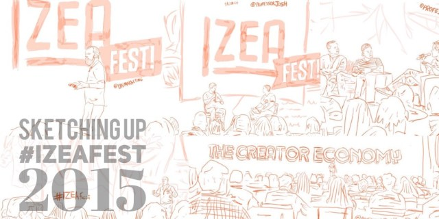 Sketching up #IZEAfest 2015