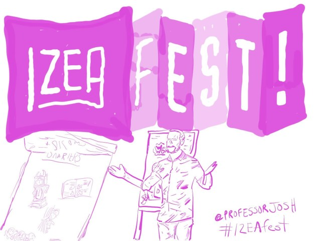 IZEAfest 2017 Sketch Duncan Wardle