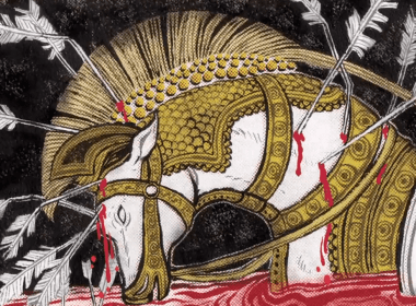 Horses stabbed and the Art of Illustration