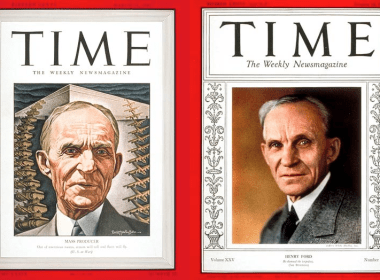 Time Magazine Ford & Grandson