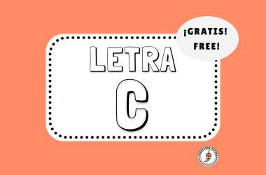 Letra C Printable
