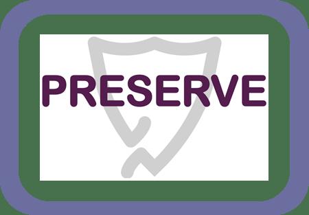 preserve logo centre panel