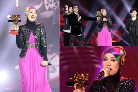 Shila Amzah Menang