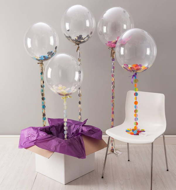 belon transparent Surprise Delivery