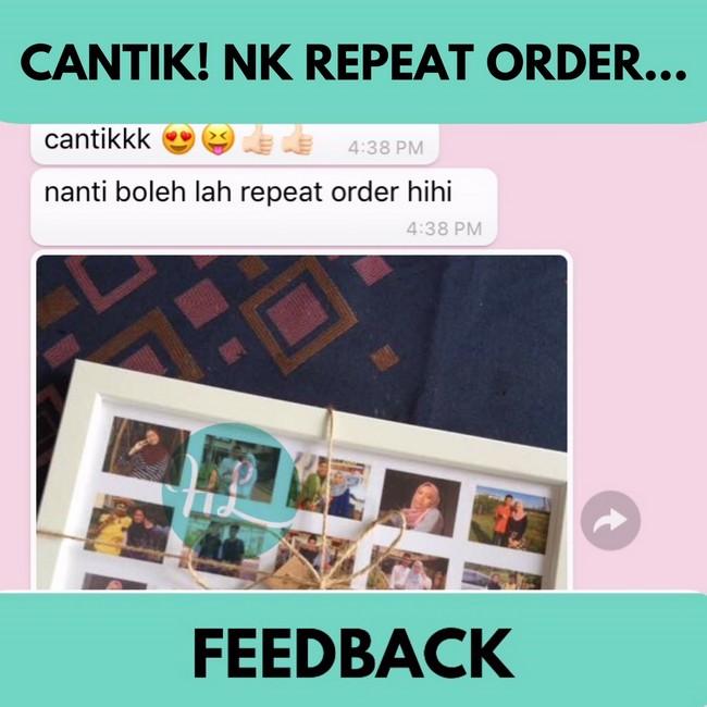 testimoni pelanggan custom made collage frame dengan hola lulu (2)
