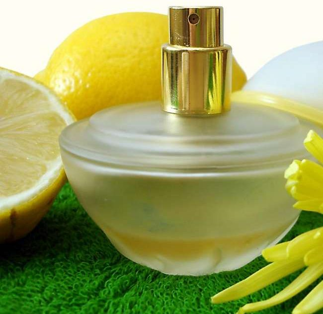 perfume berasaskan citrus