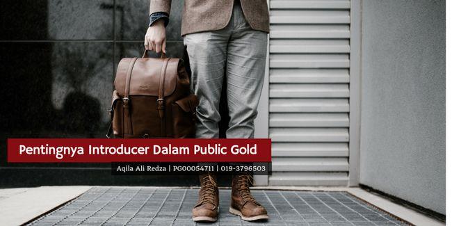 kepentingan introducer dalam pelaburan emas public gold