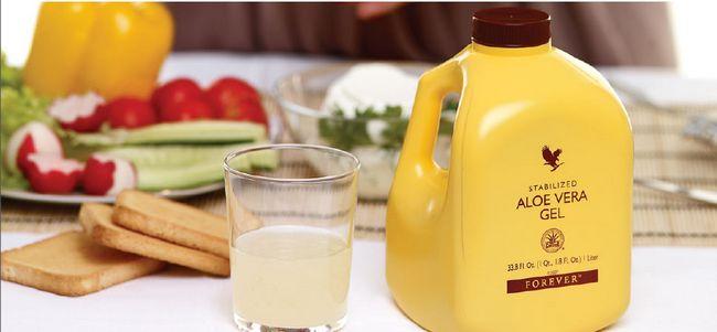 minuman kesihatan forever living aloe vera