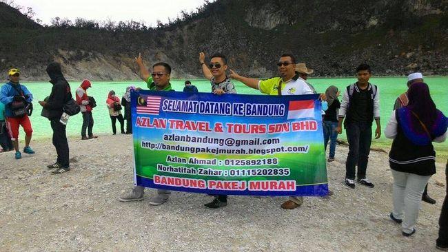kepuasan peserta azlan tour untuk pakej percutian murah bandung