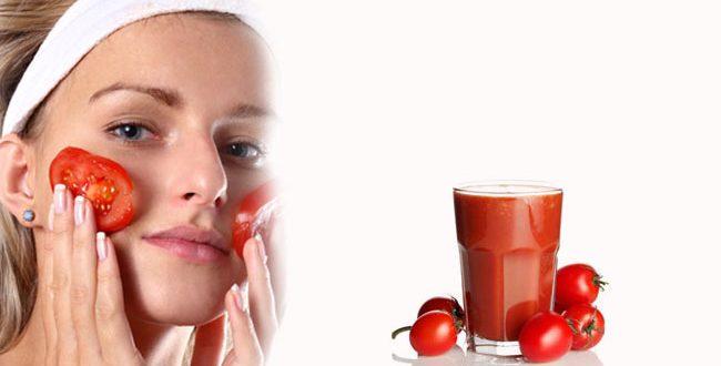 Cara Terbaik Mengecilkan Liang Pori di Muka tomato