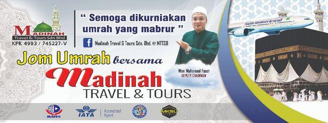 poster promosi pakej umrah murah