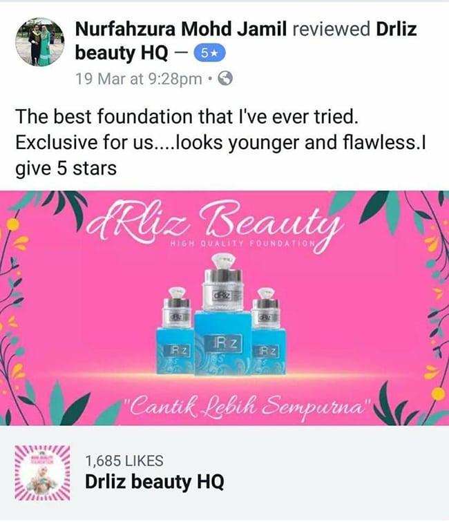 Tips Memakai Foundation Berseri