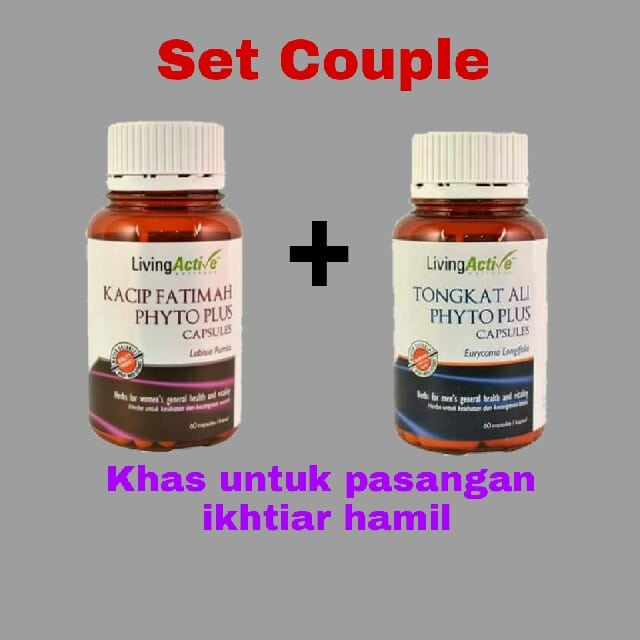 set couple kacip fatimah tongkat ali