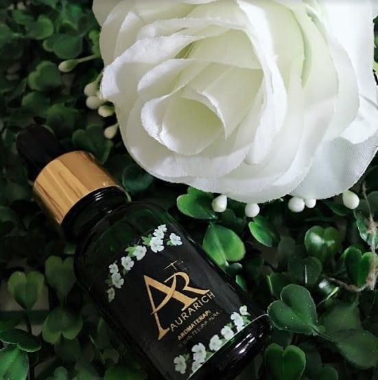 minyak aura cantikkan wajah dari bunga terpilih