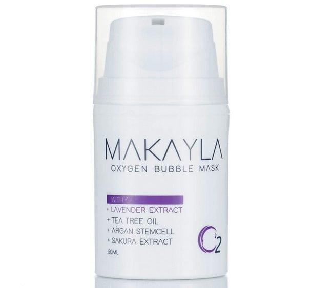 produk penjagaan muka semulajadi oxigen bubble mask