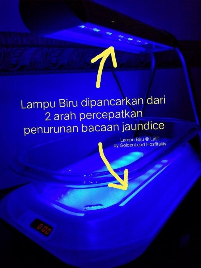 Ciri Sewa Mesin Fototerapi Demam Kuning (Jaundice) di Selangor