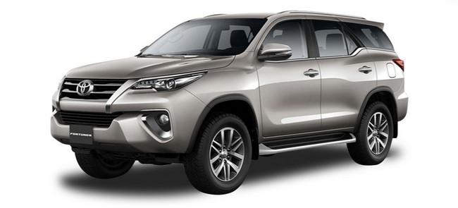 Kereta Sewa Toyota Fortuner di Kota Kinabalu Promosi