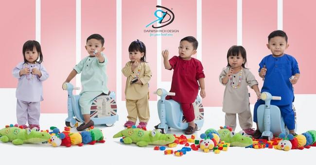 baju kanak kanak darwish rich design