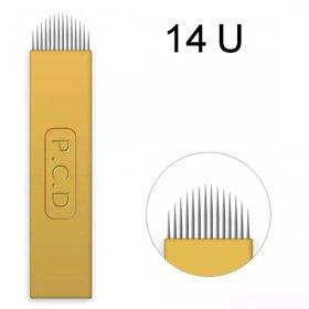 Linkovací sterilní jehla čepel 14U - 0,25 mm - 1 ks