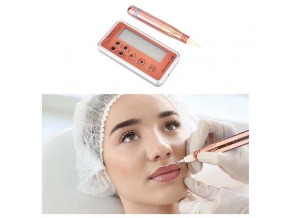 Rotační strojek s adaptérem pro permanentní make-up nebo tetování