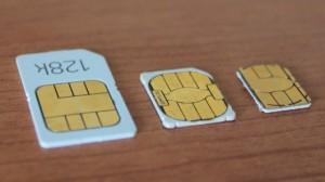 SIM картасының форматтары