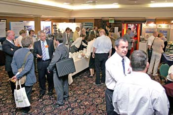 Delegates enjoy the show at the PROFIBUS UK Conference