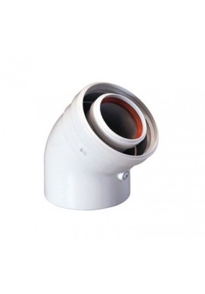 Коаксиальный отвод 45°