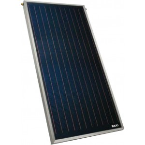 Солнечная система с принудительной циркуляцией 1 коллектор SB25+V, бойлер UBVT 200 DC