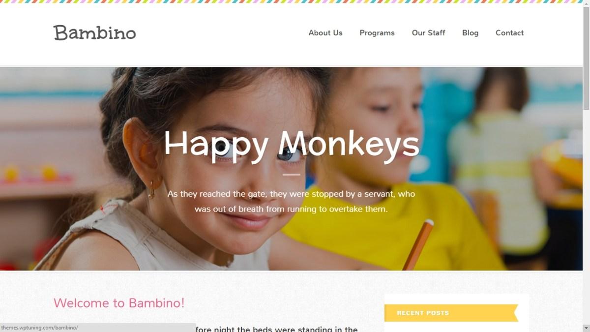 Premium Wordpress Themes for Child School-Child Care-Kindergartens