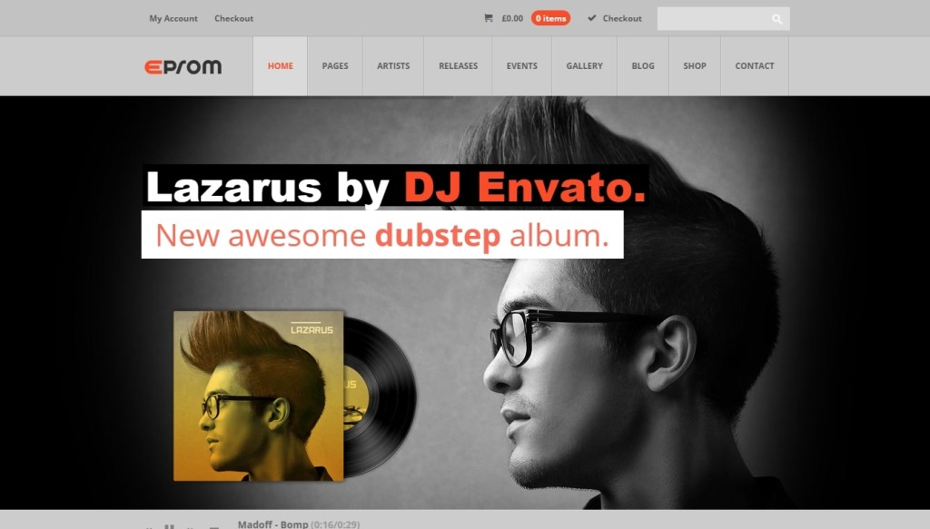 Stunning WordPress Music Themes