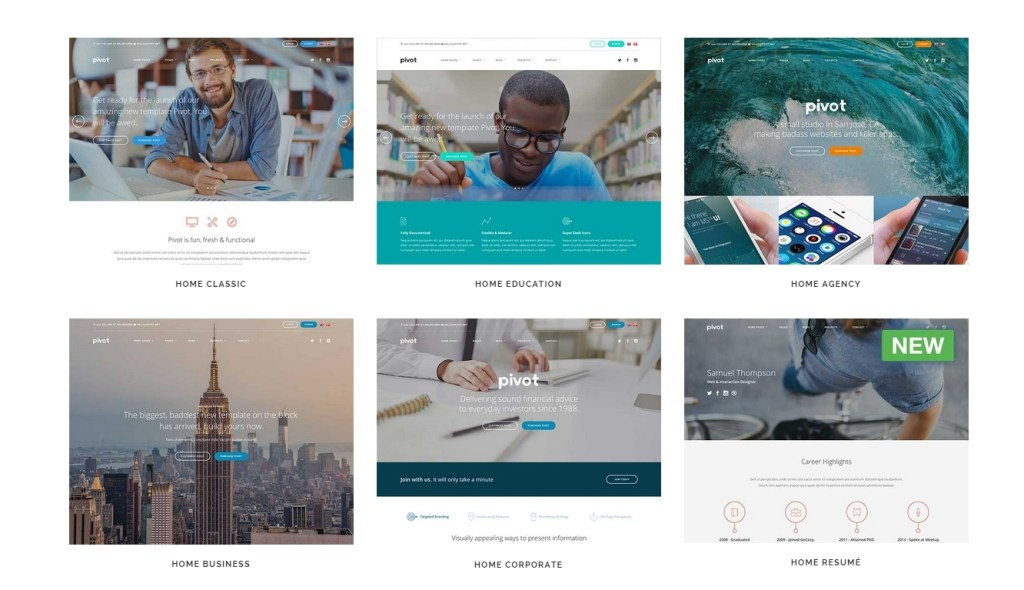 Best Flat Design Themes For WordPress-2015-jun