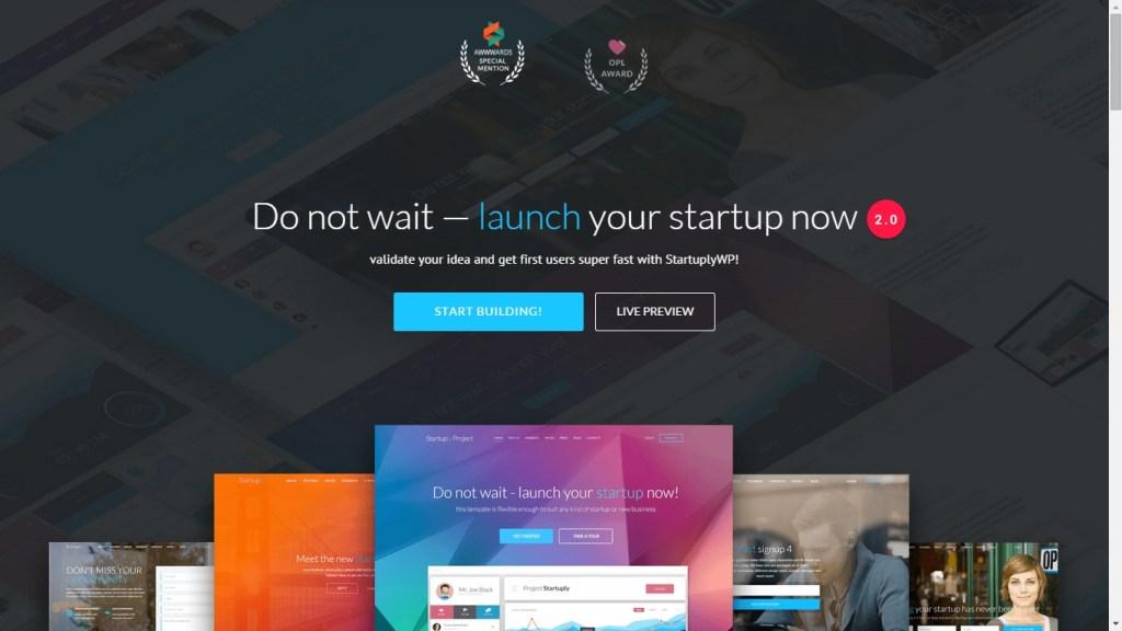 Startup WordPress Themes 2015
