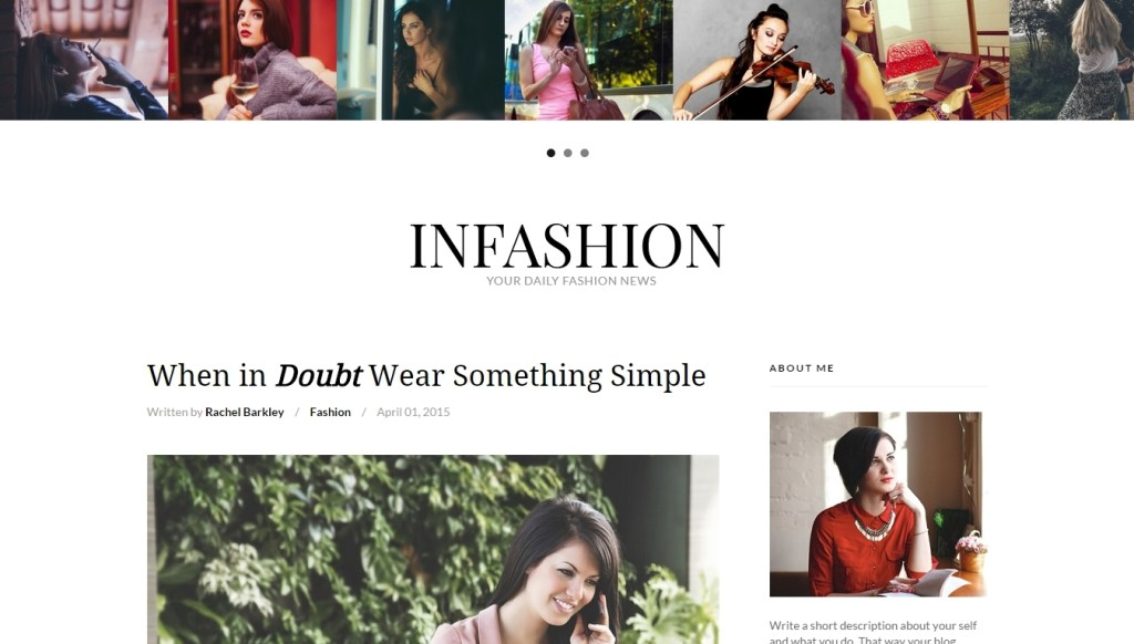 Best WordPress fashion themes for professional fashion blog