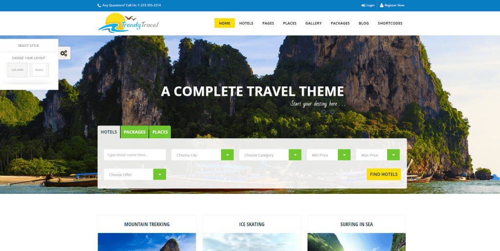 Best Travel Agency Wordpress Themes for Tourism Business