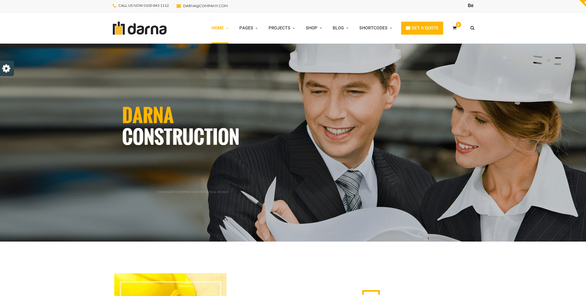 Best Wordpress Themes for Construction Businesses 2016