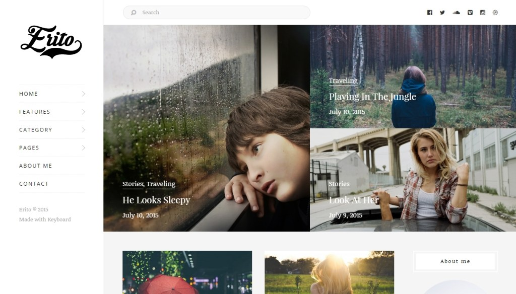 magazine wordpress themes created recently for 2016