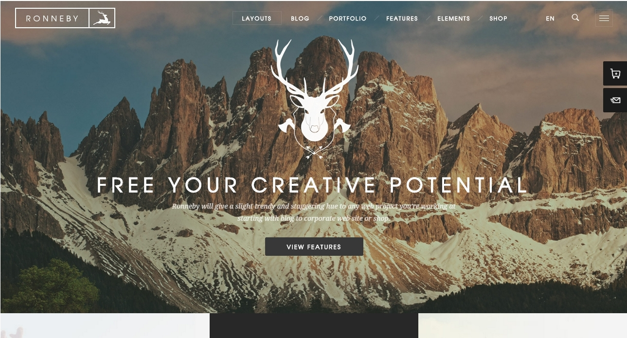 Best Modern Creative WordPress Themes 2016