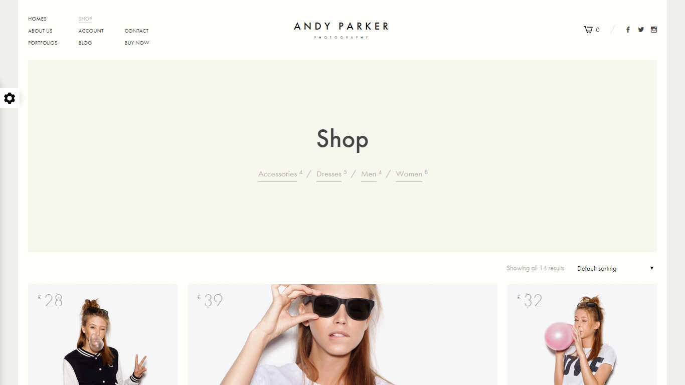 Portfolio WordPress WooCommerce Themes
