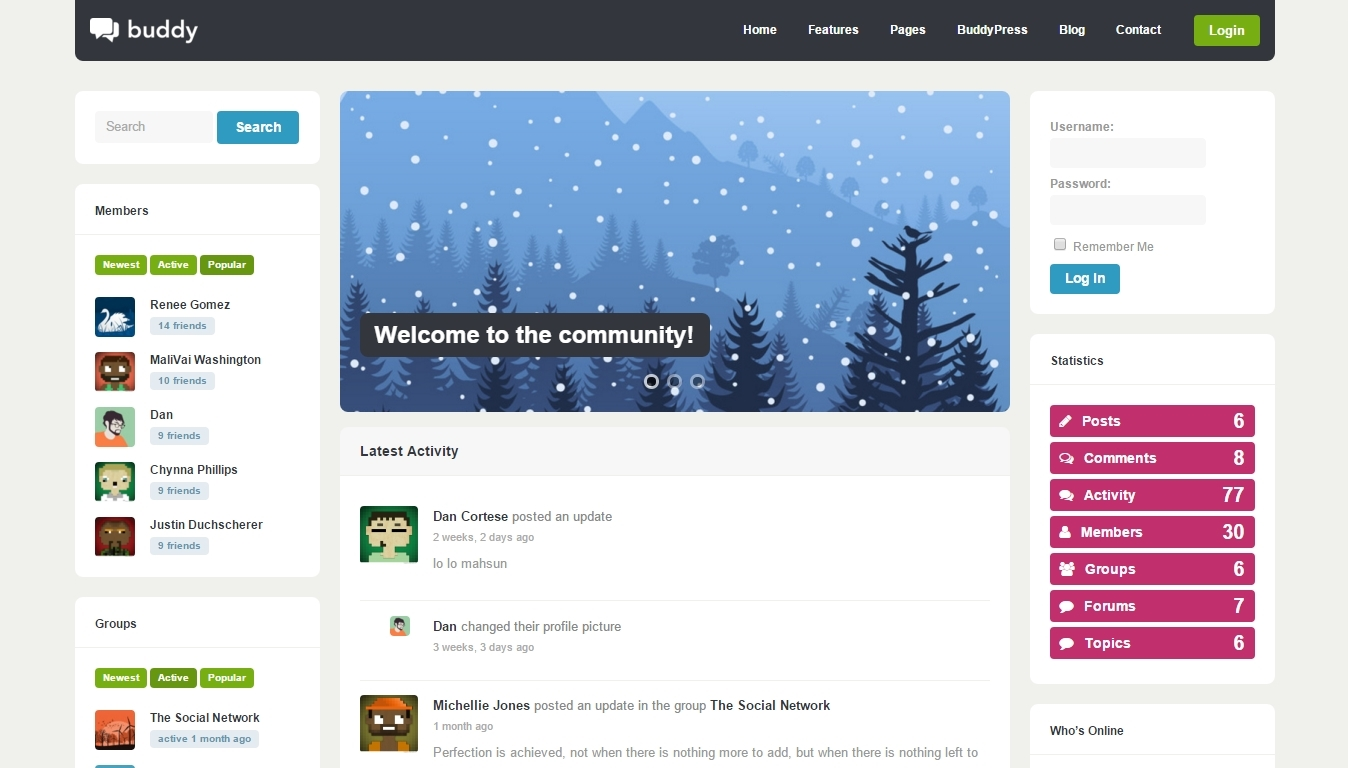 best Forum and Community WordPress Themes 2016