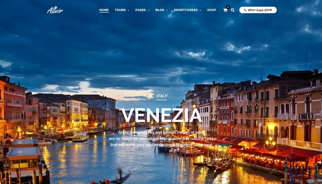 Best Travel Agency WordPress Theme of 2016