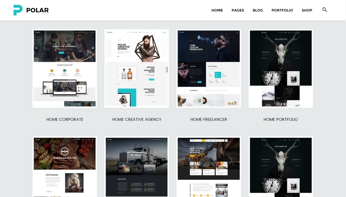WordPress Themes — 20 quality templates of 2016