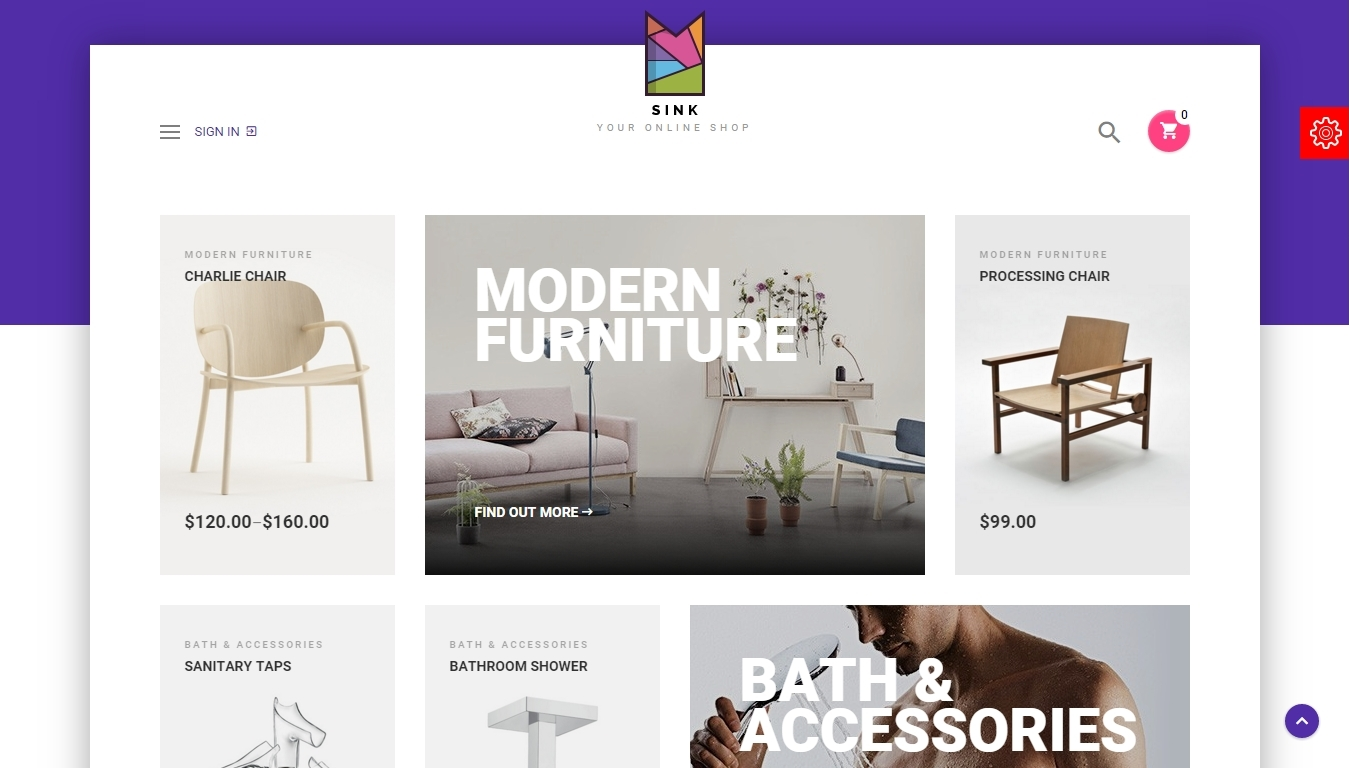 Woocommerce template