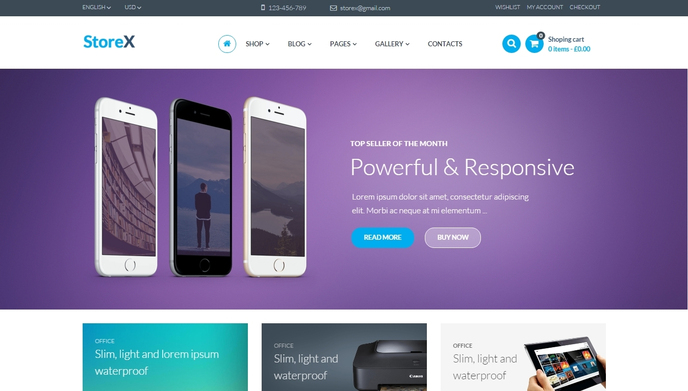 Woocoomerce - online shop wordpress themes (2)