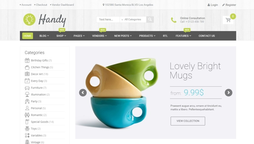 Wordpress Ecommerce 500 cool templates for online store
