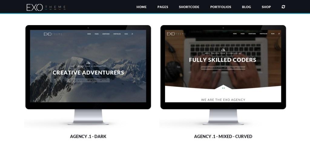 beautiful best web agency template 2016