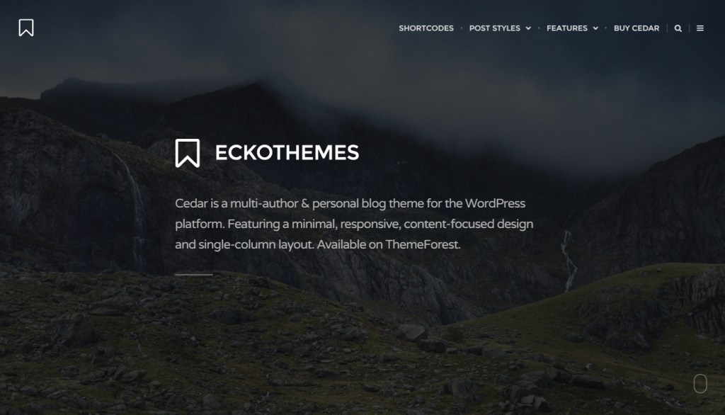beautiful WordPress blog best premium blog themes 2016