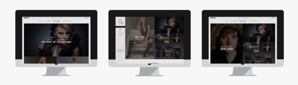 brilliant elegant clothing store WordPress themes 2016