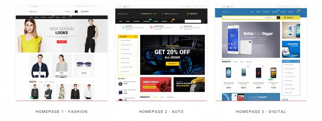 excellent WordPress store themes