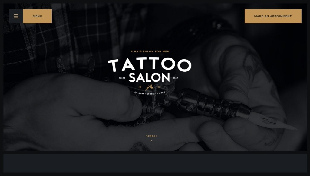 the best tattoo wordpress theme for your tattoo studio 2016