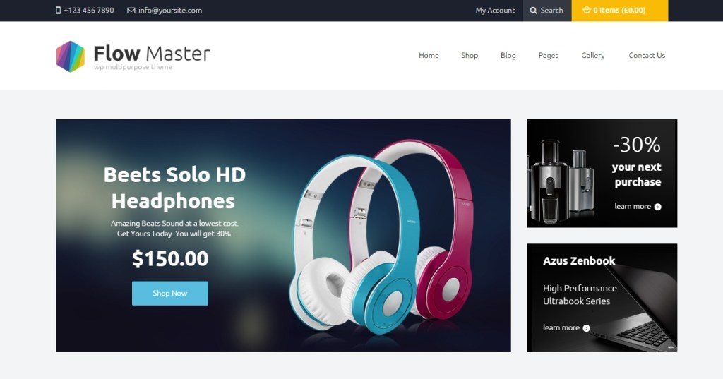 tremendous electronics website templates of 2016